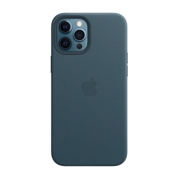 Ốp lưng iPhone 12 Pro Max da Apple MHKK3 Xanh navy