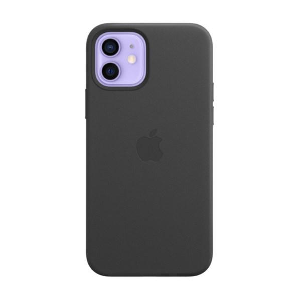 Ốp lưng iPhone 12/12 Pro da Apple MHKG3 Đen