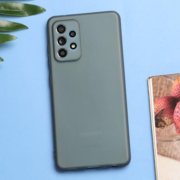 Ốp lưng Galaxy A52 nhựa dẻo Silicone-Semi CK-TS003-20 OSMIA Đen