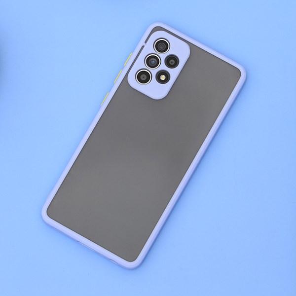 Ốp lưng Galaxy A52 nhựa cứng viền dẻo Arden CK-A002-20 OSMIA Tím