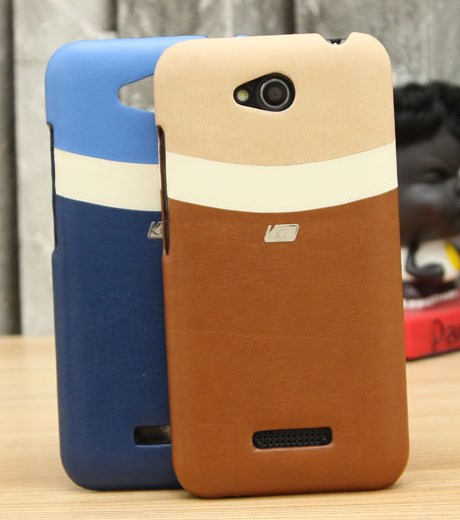 Ốp lưng - Flipcover điện thoại Ốp lưng da HTC Desire 616 Coreka