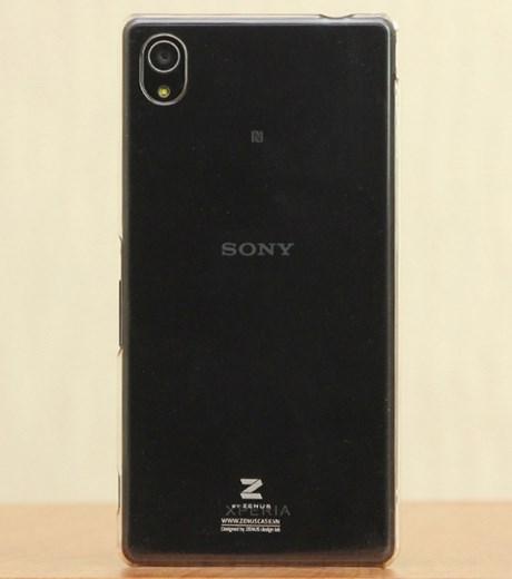 Ốp lưng - Flipcover điện thoại Ốp lưng Sony Xperia M4 Aqua nhựa trong