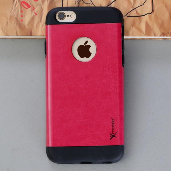 Ốp lưng iPhone 6 - 6s Nhựa dẻo phủ da VB