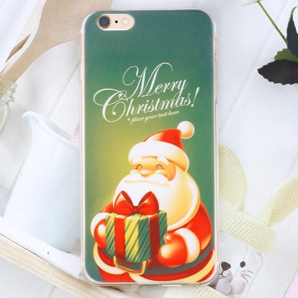 Ốp lưng iPhone 6 - 6s Plus Nhựa dẻo in Noel