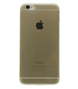 Ốp lưng iPhone 6 - 6s Nhựa Soft Đen