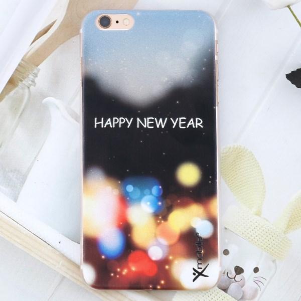Ốp lưng iPhone 6 - 6s Plus Nhựa Solid in Bóng Đen