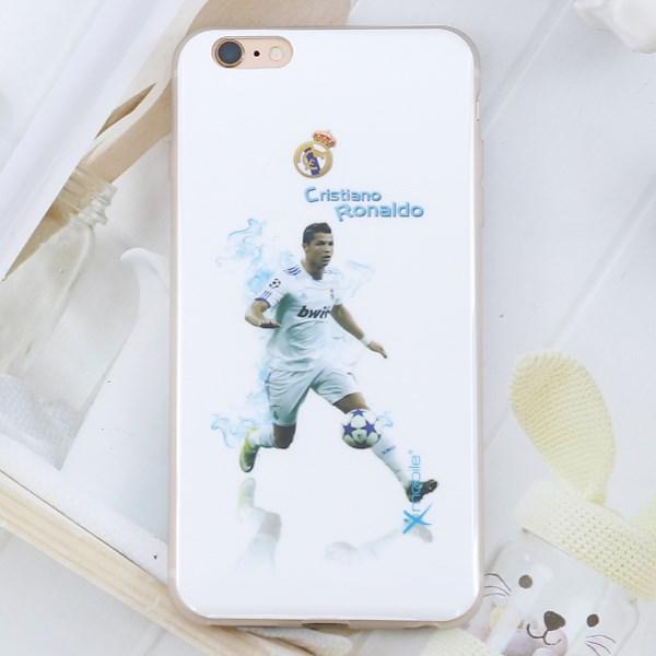 Ốp lưng iPhone 6 - 6s Plus nhựa dẻo dày bóng Ronaldo