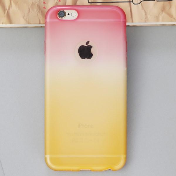 Ốp lưng iPhone 6 - 6s Nhựa dẻo Matte Hồng Cam