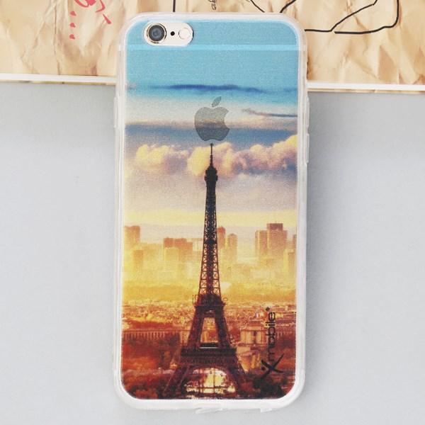 Ốp lưng iPhone 6 - 6s Nhựa in Tháp Cam
