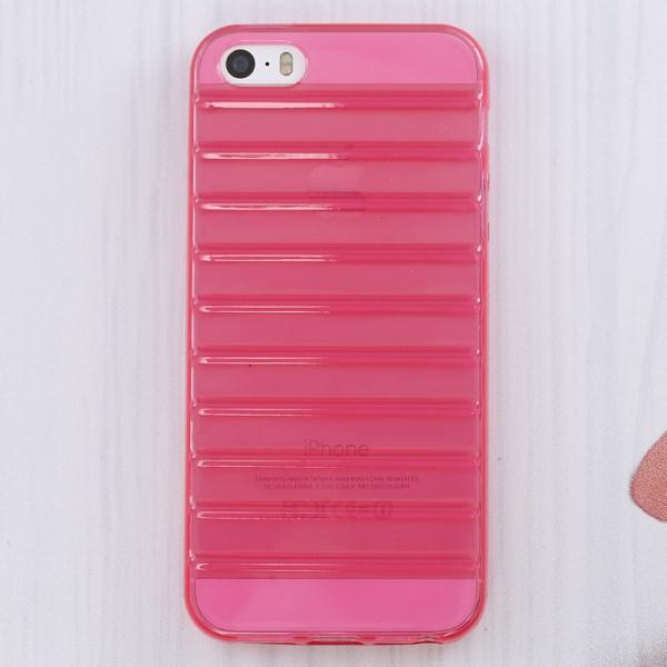 Ốp lưng iPhone 5 - 5S Nhựa dẻo Crystal Xmobile Hồng