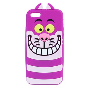 Ốp lưng iPhone 5-5S Nhựa hình thú OSMIA CK160621 Báo Hồng