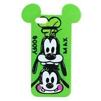 Ốp lưng iPhone SE Nhựa hình thú OSMIA Chó Xanh lá