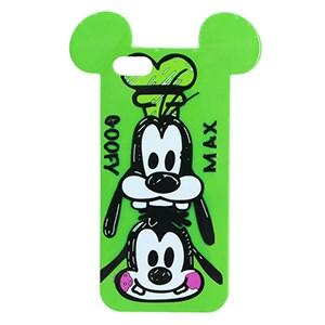 Ốp lưng iPhone SE Nhựa hình thú OSMIA CK160721 Chó Xanh lá
