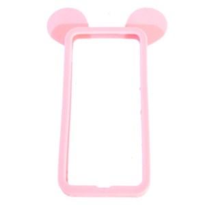 Ốp lưng iPhone 5 - 5S Nhựa hình thú OSMIA Đỏ