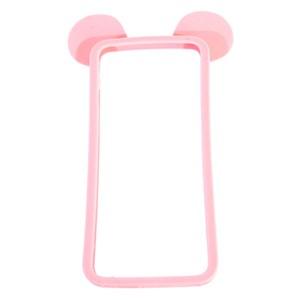 Ốp lưng iPhone 6 - 6s Plus Nhựa hình thú OSMIA Tai gấu Hồng
