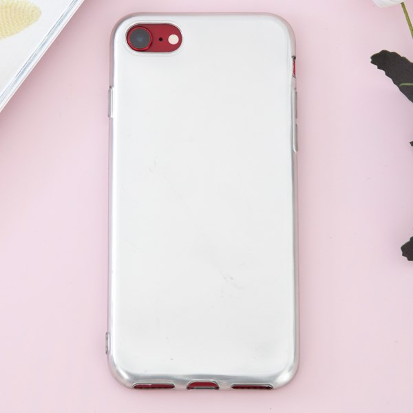 Ốp lưng iPhone 7 - iPhone 8 Nhựa dẻo Rubber Xmobile Xám Trắng