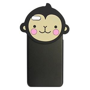 Ốp lưng iPhone 6 - 6s Plus Nhựa hình thú OSMIA Khỉ Đen