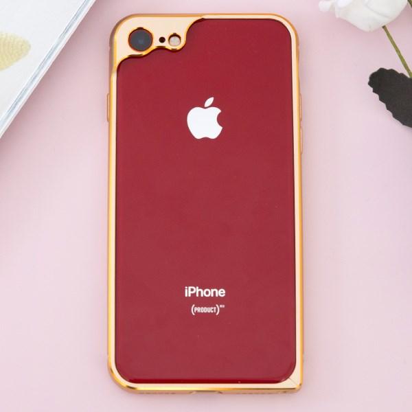 Ốp viền iPhone 7 - iPhone 8 COSANO Vàng đồng