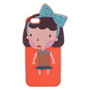 Ốp lưng iPhone 6 - 6s Nhựa hình thú COSANO Gái Cam