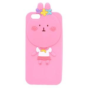 Ốp lưng iPhone 6 - 6s Nhựa hình thú COSANO Thỏ Hồng