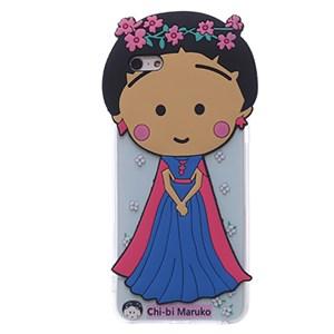 Ốp lưng iPhone 6 - 6s Plus Nhựa hình thú OSMIA Maruko Hồng