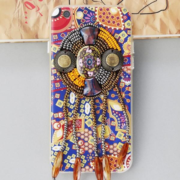 Ốp lưng iPhone 6 - 6s Nhựa dẻo Bohemian OSMIA