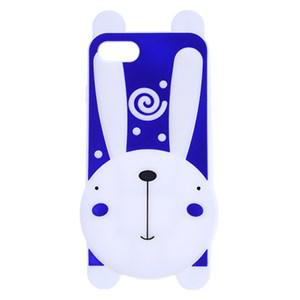 Ốp lưng iPhone 7 - iPhone 8 Nhựa hình thú COSANO Thỏ Tím