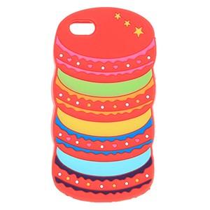 Ốp lưng iPhone 5 - 5S Nhựa hình thú COSANO Bánh Đỏ
