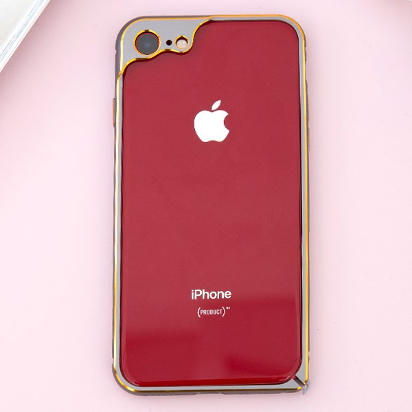 Ốp viền iPhone 7 - iPhone 8 COSANO Xám
