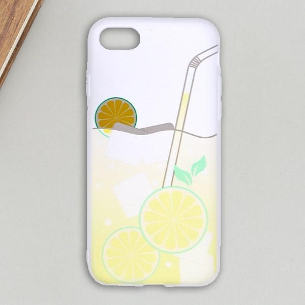 Ốp lưng iPhone 7 - iPhone 8 Nhựa cứng Semi PC Xmobile Chanh Vàng