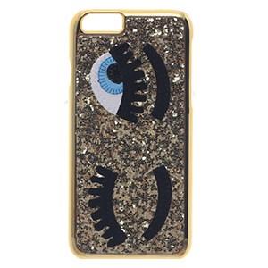 Ốp lưng iPhone 6 - 6s Nhựa cứng Eyelash COSANO Vàng đồng