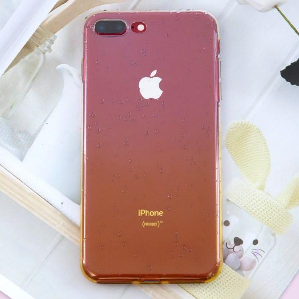 Ốp lưng iPhone 7 Plus - 8 Plus Nhựa dẻo Rain Xmobile Vàng