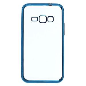 Ốp lưng Galaxy J1 (2016) Nhựa dẻo Electroplate Xmobile Xanh