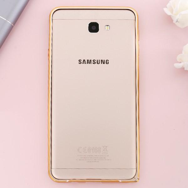Ốp lưng Galaxy J7 Prime Viền Curve COSANO Gold