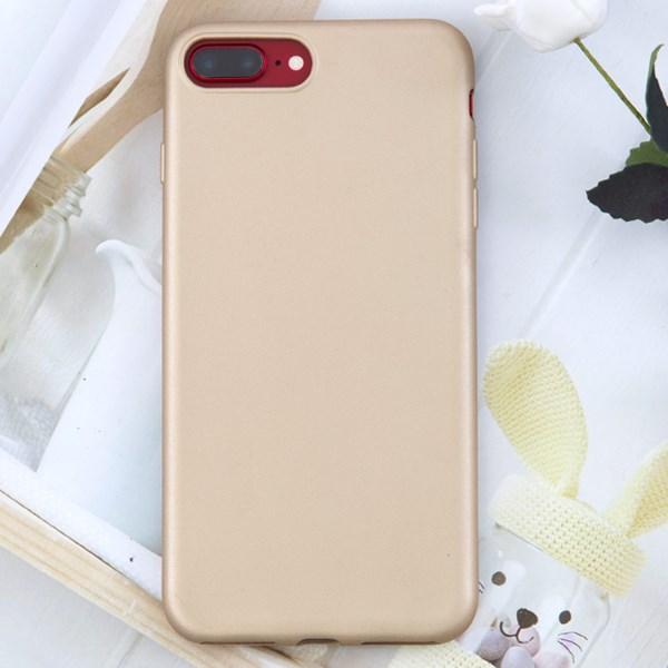 Ốp lưng iPhone 7 Plus - 8 Plus Nhựa dẻo Matte Solid OSMIA Gold