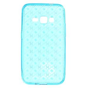 Ốp lưng Galaxy J120 Nhựa dẻo Dots V Xmobile Xanh
