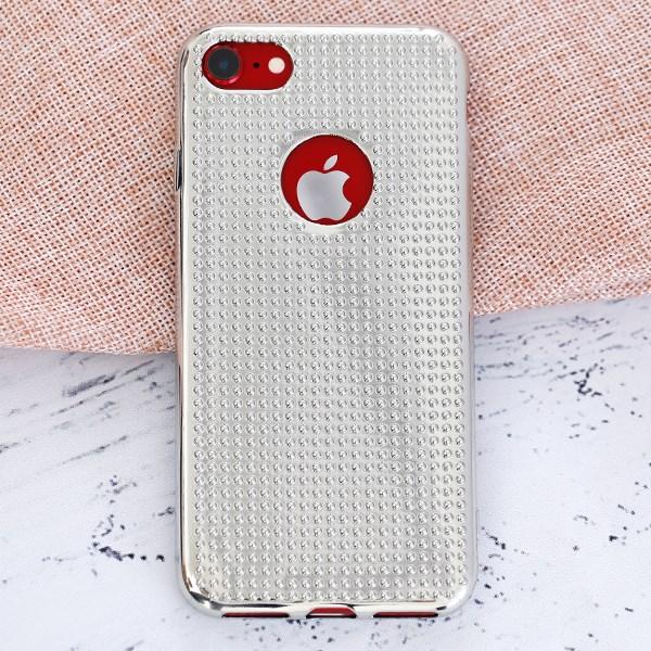 Ốp lưng iPhone 7 - iPhone 8 Nhựa dẻo Sphere JM Bạc