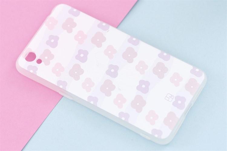 Ốp lưng Oppo A37 Nhựa dẻo Kawayi JM JM170305 Hoa tím hồng 04/2019