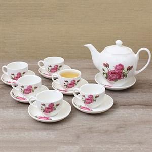 Bộ ấm trà Minh Châu MC-BAT02 hoa