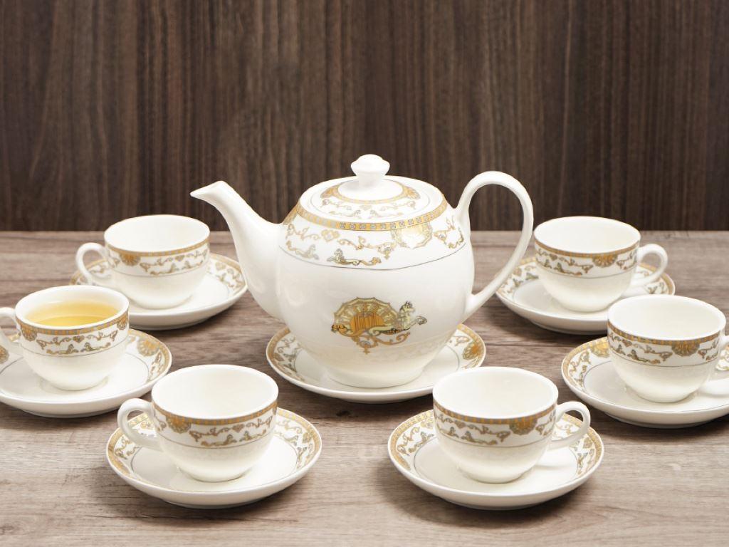 Bộ ấm trà Minh Châu MC-BAT01- ngựa vàng 1