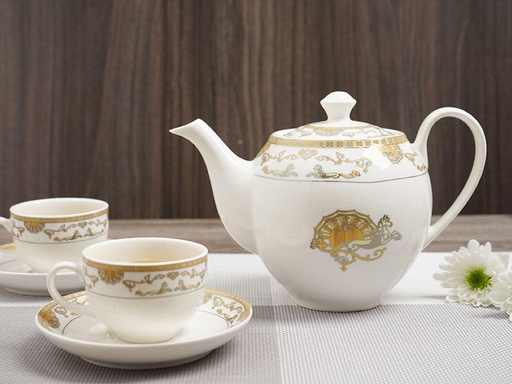Bộ ấm trà Minh Châu MC-BAT01- ngựa vàng 4