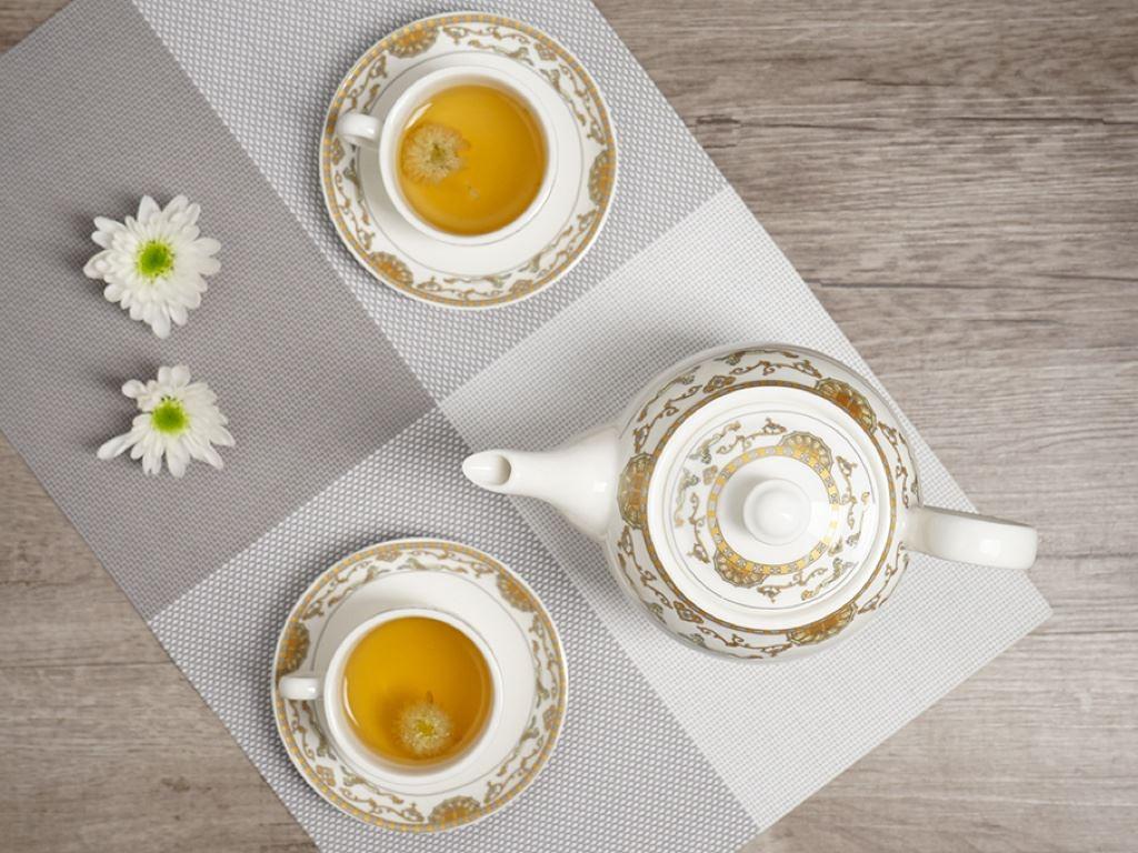 Bộ ấm trà Minh Châu MC-BAT01- ngựa vàng 5