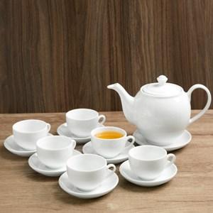 Bộ ấm trà Sứ Sương SSA019 14 món