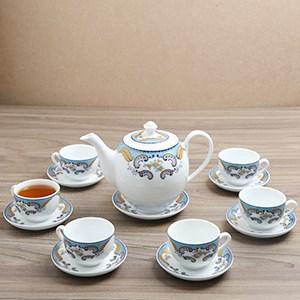 Bộ ấm trà Sứ Sương SSA018 14 món