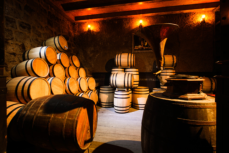 Điều hòa độ ẩm  tạo ra môi trường lưu trữ lý tưởng như hầm lưu trữ rượu cổ xưa