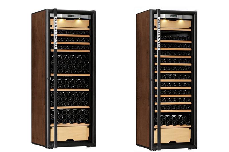Tủ trữ rượu vang Transtherm Castel Prestige Được trang bị 10 khay