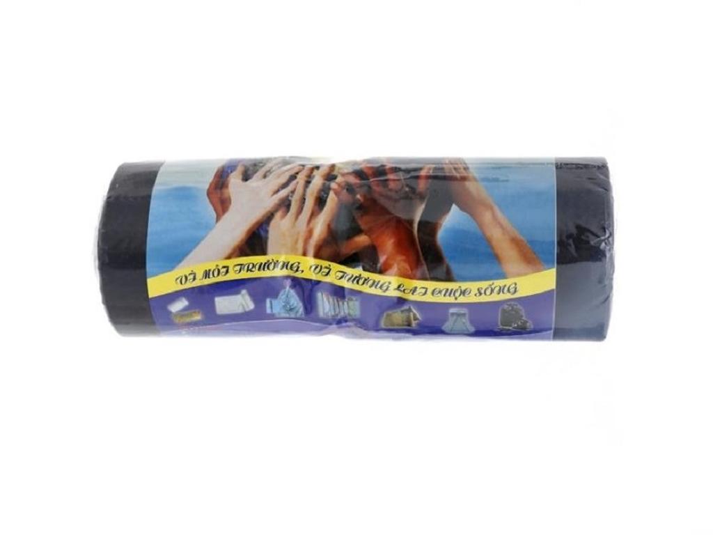 1 cuộn túi rác đen tự huỷ Alta 80x100cm (1kg) 2