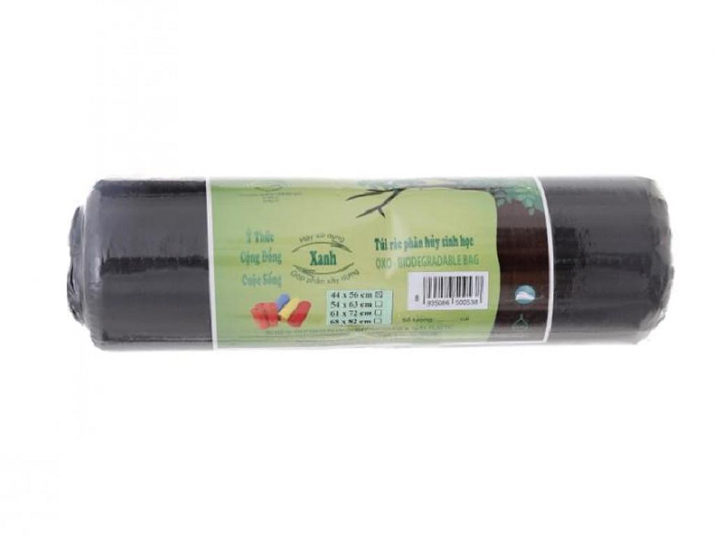 1 cuộn túi rác đen có lõi tự huỷ Alta 44x56 cm (500g) 2