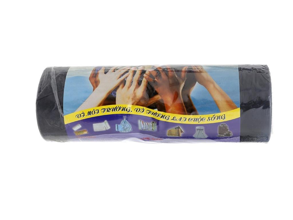 1 cuộn túi rác đen tự huỷ Alta 90x120cm (1kg) 2