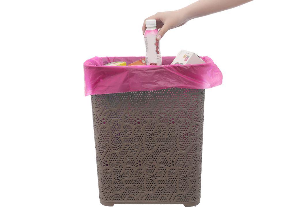 1 cuộn túi rác màu có lõi tự huỷ Alta 45x55cm (350g) 4